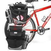 *阿亮單車*LOTUS快拆側掛袋,三個空間(行李貨架袋),隱藏防水外袋《C84-031》