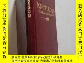 二手書博民逛書店KNOWLEDGE罕見that leads to everlas