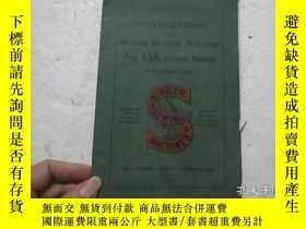 二手書博民逛書店1912年民國時期出版罕見32開本 INSTRUCTIONS SINGER SEWING MACHINE(辛格縫紉