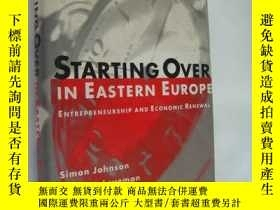 二手書博民逛書店STARTING罕見OVER IN EASTERN EUROPE