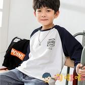 男童長袖打底衫秋裝中大童寶寶棉上衣T恤潮【淘嘟嘟】