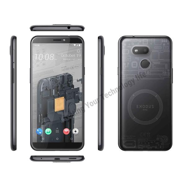 HTC EXODUS 1S (4G/64G) 區塊鏈手機,送 空壓殼+玻璃保護貼,分期0利率 聯強代理