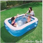 泳池 兒童充氣游泳池家庭超大型海洋球池加厚家用大號成人戲水池 YXS 【快速出貨】