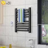 恒溫電熱毛巾架衛生間電加熱烘干置物架浴室廚房壁掛式發熱 1995生活雜貨