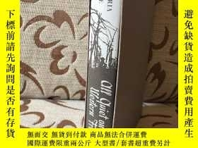 二手書博民逛書店All罕見quiet on the western front by Erich Maria Remarque 雷