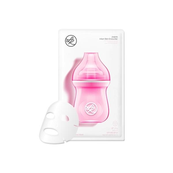 韓國 Purenskin 小奶瓶膠原蛋白精華面膜(單片28g)【小三美日】