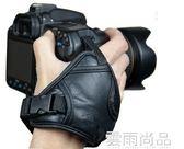 單反微單相機手帶相機配件 適用佳能尼康索尼賓得皮腕帶手腕帶 雲雨尚品