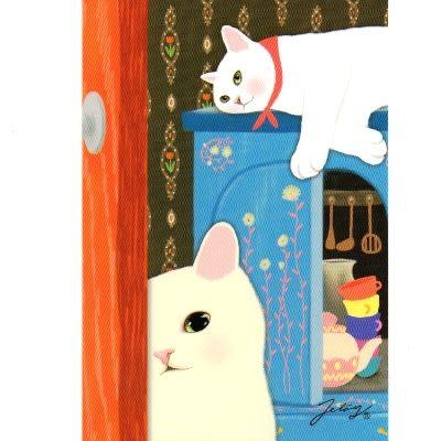 JETOY,Choo Choo 甜蜜貓第二代明信片_Gamy