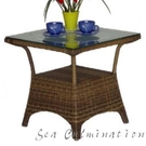 {{ 海中天休閒傢俱廣場 }}戶外休閒 塑膠藤桌椅系列 A106-5 小茶几