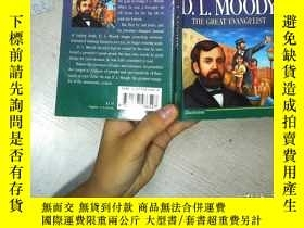 二手書博民逛書店D.L.MOODY罕見THE GREAT EVANGELIST
