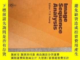 二手書博民逛書店image罕見sequence analysis (H514)Y