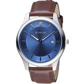瑞士WENGER City 城市系列 經典簡約紳士腕錶 01.1441.116
