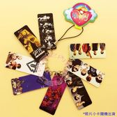 BIGBANG 照片PVC照片小卡串手機鍊 串卡鑰匙鏈(8片)E460-B【玩之內】韓國 GD TOP 太陽