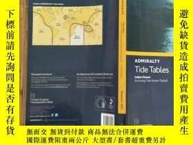 二手書博民逛書店ADMIRALTY罕見Tide Tables海事潮位表【請看圖Y