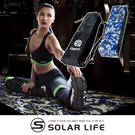 QMAT 環保POE摺疊瑜珈墊6mm迷彩款.運動軟墊 健身止滑墊 嬰兒爬行墊 折疊韻律地墊 防水防滑遊戲墊