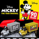 迪士尼小汽車 米奇90週年紀念 貨櫃車_...