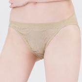 思薇爾-星願秘密系列M-XL蕾絲低腰三角內褲(自然綠)