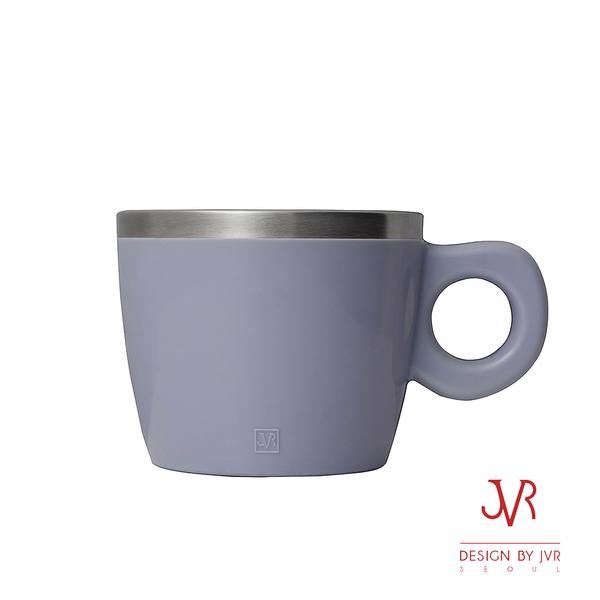 JVR韓國原裝Milky馬卡龍不銹鋼馬克杯220ml