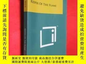 二手書博民逛書店KEEPER罕見OF THE FLAME (小16開) 【詳見圖