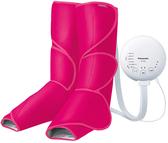 Panasonic【日本代購】松下 空氣按摩器 腳 小腿 保暖功能EW-RA88-胭脂紅