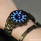 電子手錶智慧多功能黑科技學生超火的 無指針概念手錶男特種兵 糖糖日系森女屋店