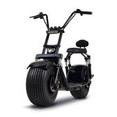 滑板車啟牛X哈雷電瓶車成人新款雙人鋰電池電動踏板車電動摩托車滑板車 萬客居