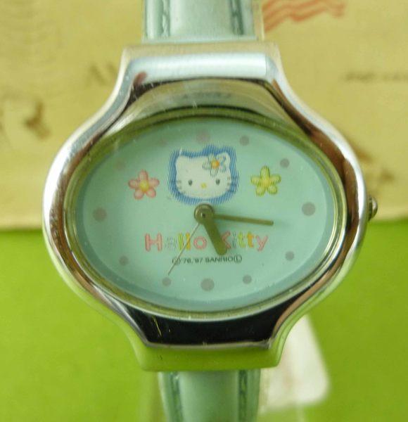 【震撼精品百貨】Hello Kitty 凱蒂貓~花-藍【共1款】