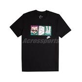 Nike 短袖T恤 NSW Tee 黑 彩色 男款 短T Air Force 1 漫畫 運動休閒 【ACS】 CT6528-010