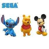 【日本正版】迪士尼 透明球 公仔 擺飾 米奇 小熊維尼 史迪奇 Disney SEGA 186717 187923 188326