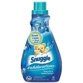 美國 Snuggle 3倍濃縮衣物柔軟精-鳶尾花香(50oz)*2