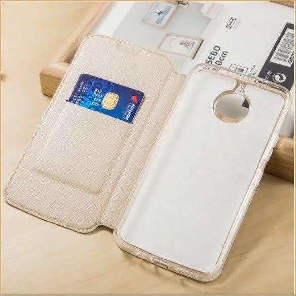 簡約皮套 摩托羅拉 MOTO G5S Plus 手機套 防摔 支架 插卡 自動吸附 全包邊 G5S 側翻皮套 十字紋