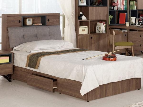 床架 MK-041-1 約克3.5尺被櫥式單人床 (床頭+床底)(不含床墊) 【大眾家居舘】