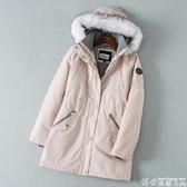 防風外套 抗寒零下20度防風防水加厚戶外棉衣棉服外套女 新年禮物