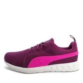 Puma Carson Mesh WNS [189025-02] 女鞋 運動 休閒 經典 慢跑 輕量 透氣 紫 桃紅