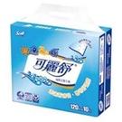【南紡購物中心】可麗舒抽取式衛生紙(120抽/10包/8袋/箱)