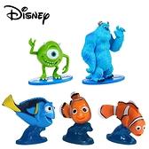 【正版授權】皮克斯電影 迷你公仔 模型 怪獸電力公司 海底總動員 毛怪 大眼仔 迪士尼 --- 855821