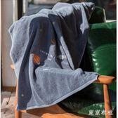 男女大號全棉浴巾愛心情侶成人棉質柔軟超強吸水嬰兒浴巾  LN3952【東京衣社】