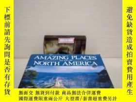 二手書博民逛書店Amazing罕見Places to go in North America 北美神奇的地方Y291318