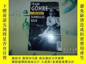 二手書博民逛書店frank:gohre:thriller罕見SCHNELLES
