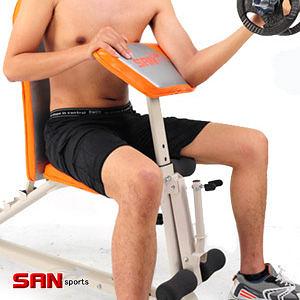重量訓練機│第二代怪力舉重床.重力訓練機.啞鈴椅仰臥起坐板健身器材舉重椅哪裡買【SAN SPORTS】