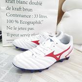 Mizuno MONARCIDA NEO II 男款 3E寬楦 足球鞋 P1GA210562 白紅【iSport愛運動】