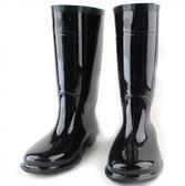 長筒雨靴-風靡防滑精選防水男女雨鞋2款5s23【時尚巴黎】