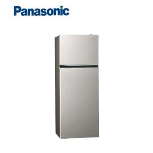 Panasonic 393L 2門全平面無邊框鋼板電冰箱  NR-B409TV-S(銀河灰)
