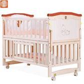 嬰兒床實木多功能寶寶床搖籃床可折疊新生兒