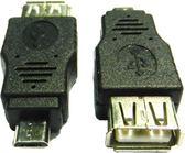 [富廉網] UB-397 USB A母/MicroB公OTG轉接頭