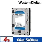 WD 【藍標】 4TB WD40EZRZ (3.5吋/64M/5400轉/SATA3/三年保) 桌上型硬碟