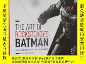 二手書博民逛書店The罕見Art of Rocksteady Studio's