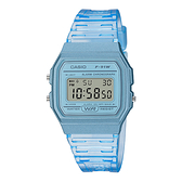 CASIO 手錶專賣店卡西歐 F-91WS-2 果凍材質系列 電子錶 小巧簡約錶面 樹脂錶帶 防水 LED照明