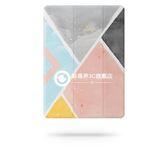 文藝水彩保護套Air1/2超薄簡約休眠防摔壳 iPad mini4/3保護套 pro9.7寸