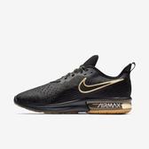 Nike AIR MAX SEQUENT 4 [AO4485-005] 男鞋 慢跑 休閒 氣墊 緩震 健身 訓練 黑金